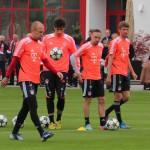 Dezimierter Kader - Robben & Ribery fehlen, Martinez war lange verletzt, einzig Müller blieb verletzungsfrei.