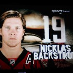 Zweite Größe neben Ovechkin: Nicklas Backstrom - Screenshot Copyright Sport1 US HD