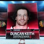 Duncan Keith, Pferdelunge der Liga -Screenshot Copyright Sport1 US HD