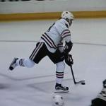 5 Tore in 4 Spielen gegen Minnesota: Patrick Kane -Screenshot Copyright Sport1 US HD