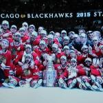 Chicago BLackhawks Stanley Cup Sieger 2015 - Screenshot Copyright Sport1 US HD