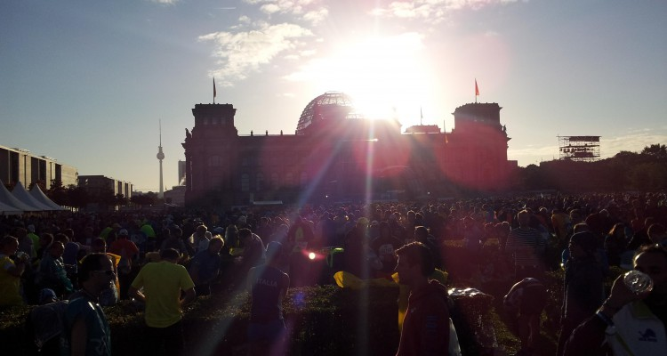 Beautiful day – Berlin Marathon 2015