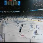 Das Duell Kings gegen Stars gab es letzte Saison auch unter freiem Himmel - Screenshot Copyright Sport1 US HD