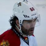 Auch mit 44 noch sehr gut - Jaromir Jagr Screenshot Copyright Sport1 US HD
