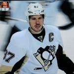 Crosby gegen die Rangers gut in Form - Screenshot Copyright Sport1 US HD