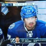 Alex Killorn aus der überragenden ersten Reihe - Screenshot Copyright Sport1 US HD
