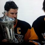 Letang, Crosby & Malkin gewannen schon 2009 die Meisterschaft - Screenshot Copyright Sport1 US HD