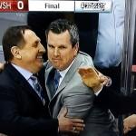 Erreicht Mike Sullivan auch im zweiten Jahr mit Pittsburgh das Finale? - Screenshot Copyright Sport1 US HD