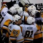 Bei den Penguins sind viele Spieler torgefährlich  - Screenshot Copyright Sport1 US HD