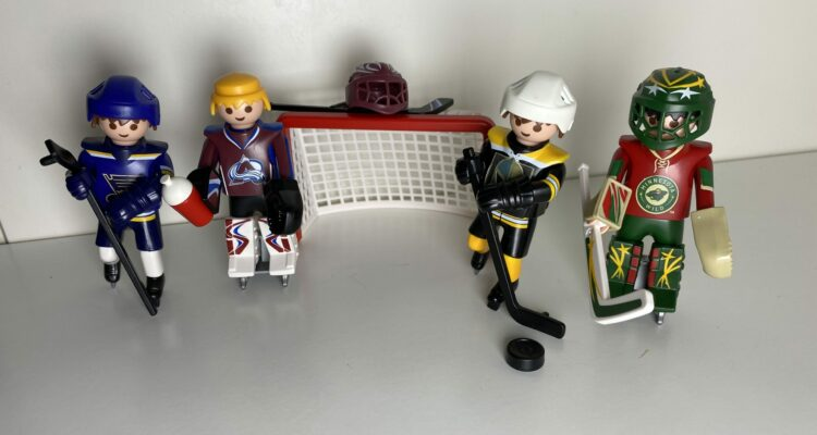 #043 NHL Playoffs Runde 1 – West Division – Colorado vs. St. Louis – Vegas vs. Minnesota